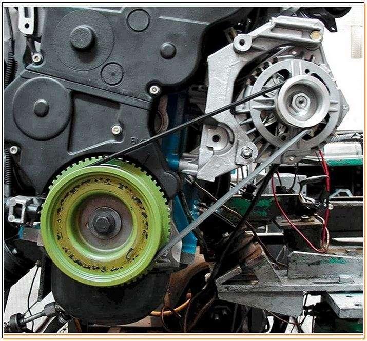 Замена ремня генератора на приоре 16 клапанов своими руками